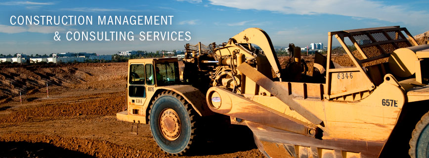Construction Management & Consulting Services, an earth mover