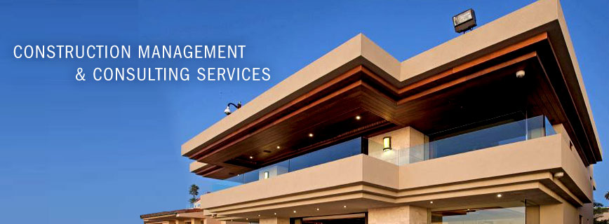 Construction Management & Consulting Services, a modern building
